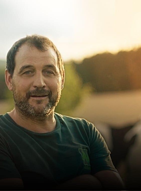 Naturland-Landwirt Michael Beer, Bio-Hof Beerhof